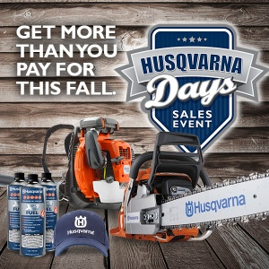 From September 15th to November 15th we are celebrating Husqvarna Days!